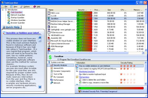 malware, spyware, adware, process, task, taskguardian, task guardian, security,